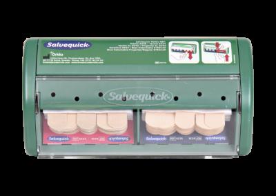 Pflaster-Spender Salvequick befüllt