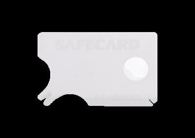 Zeckenkarte aus Kunststoff