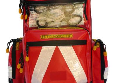 Notfallrucksack für Feuerwehr